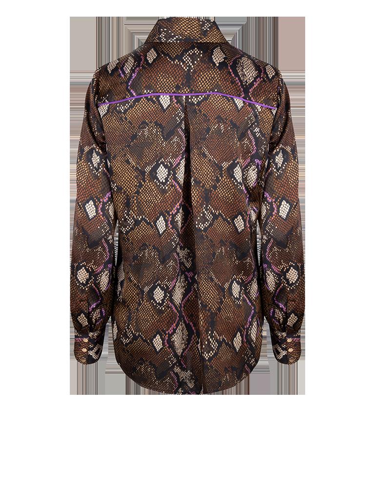 Faith print blouse-2