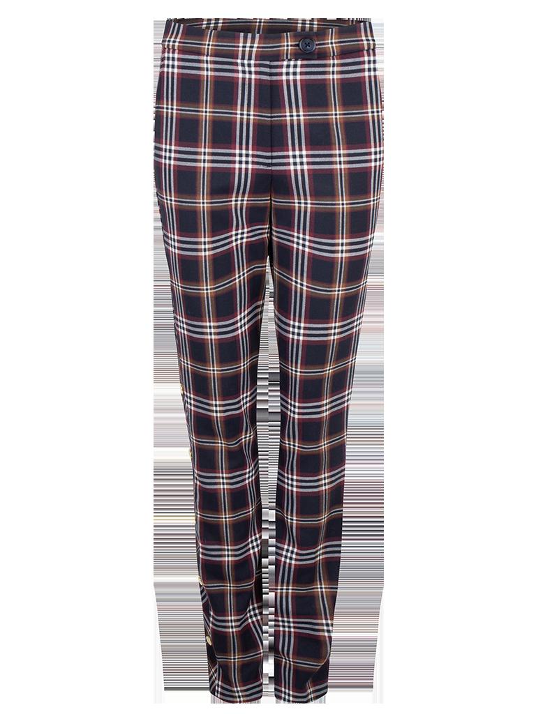 Vato check pants-1
