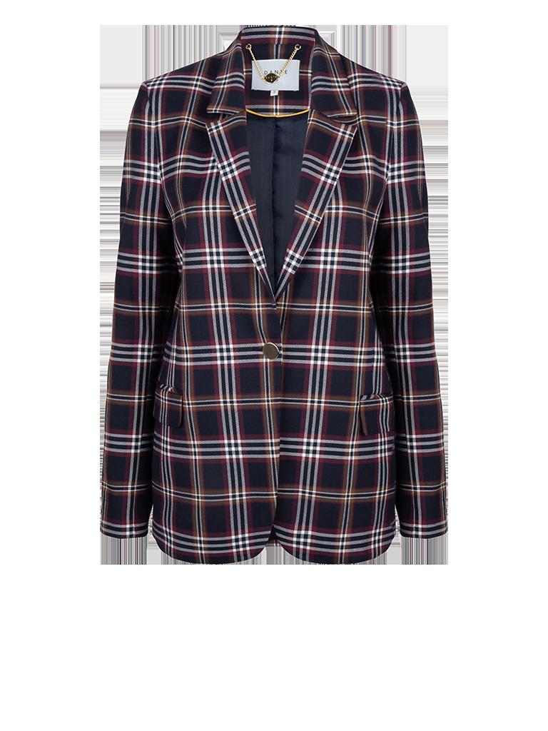 Fliren check blazer-1