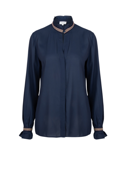 Pippa ruffle blouse