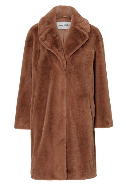Camille cocoon faux fur