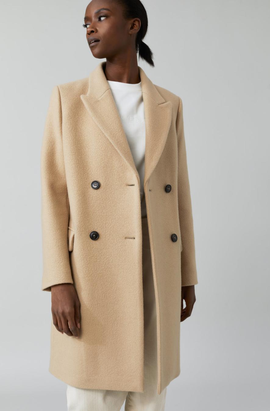 Coat cross honey-2