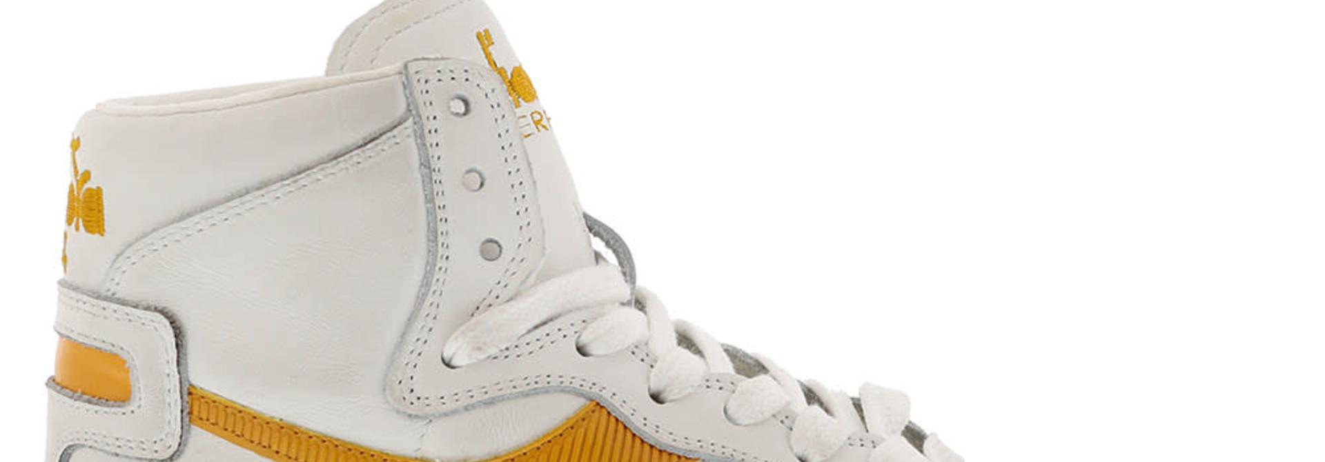 Sneaker basket yellow