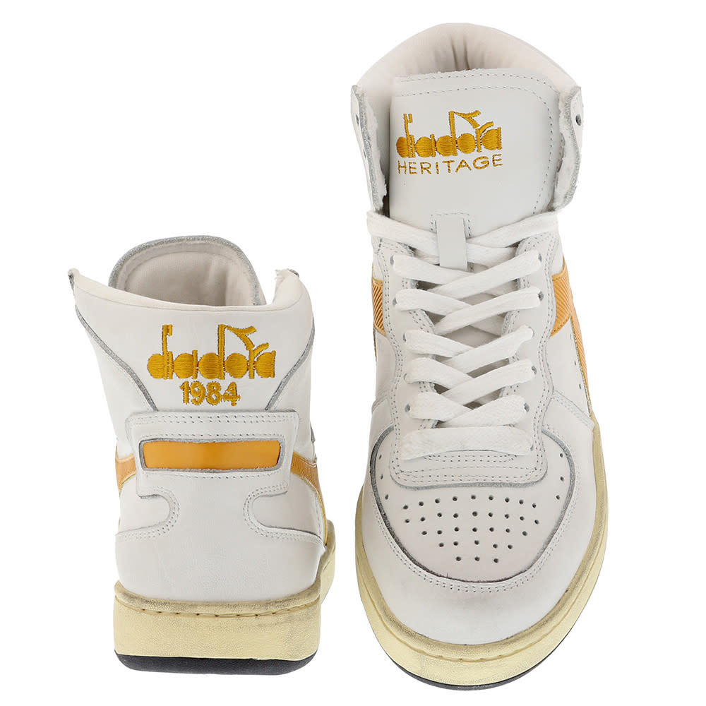 Sneaker basket yellow-3