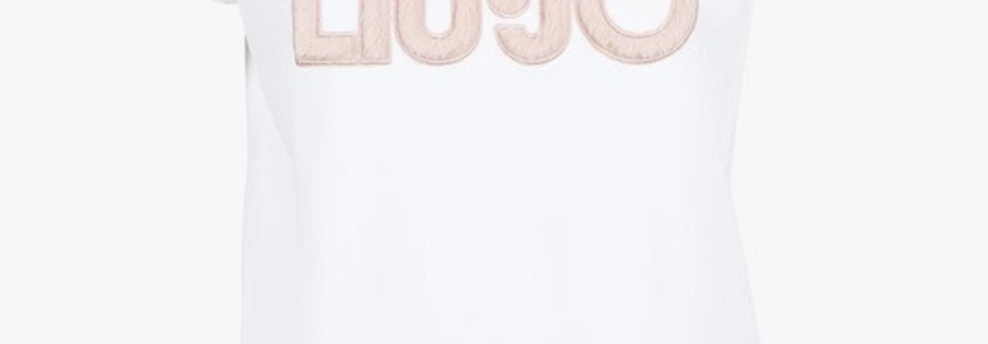 Tee white logo