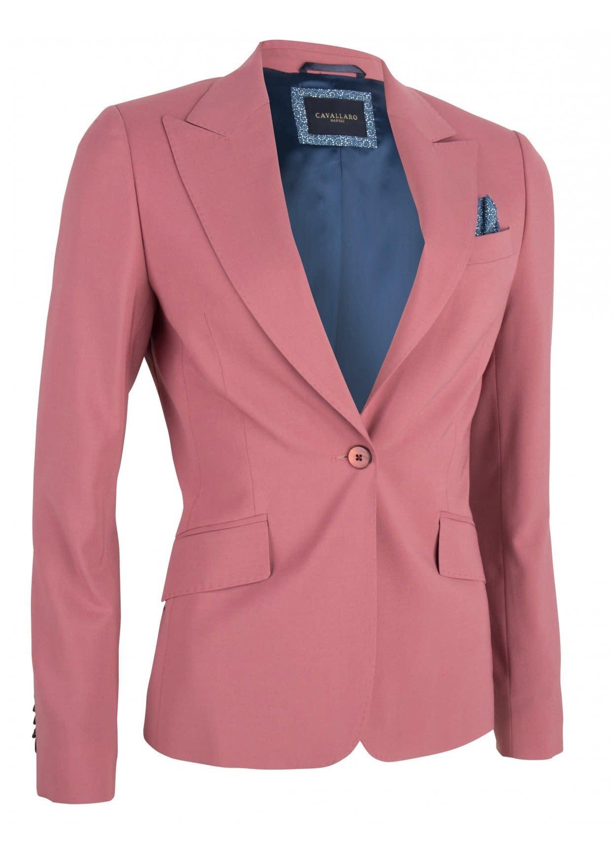 Blazer cosa dark pink-1