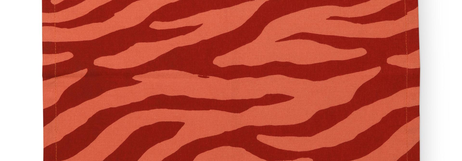 Napkin Zebra Stripes 35x35cm