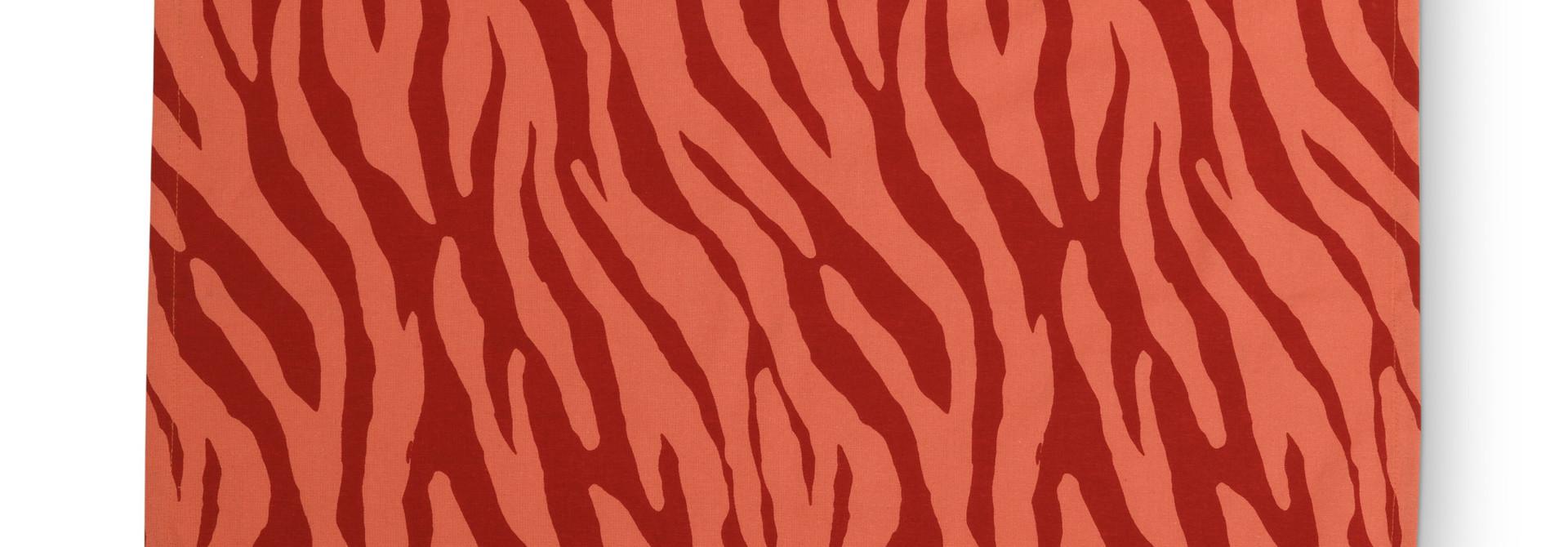 Tea Towel Zebra Stripes 60x60cm