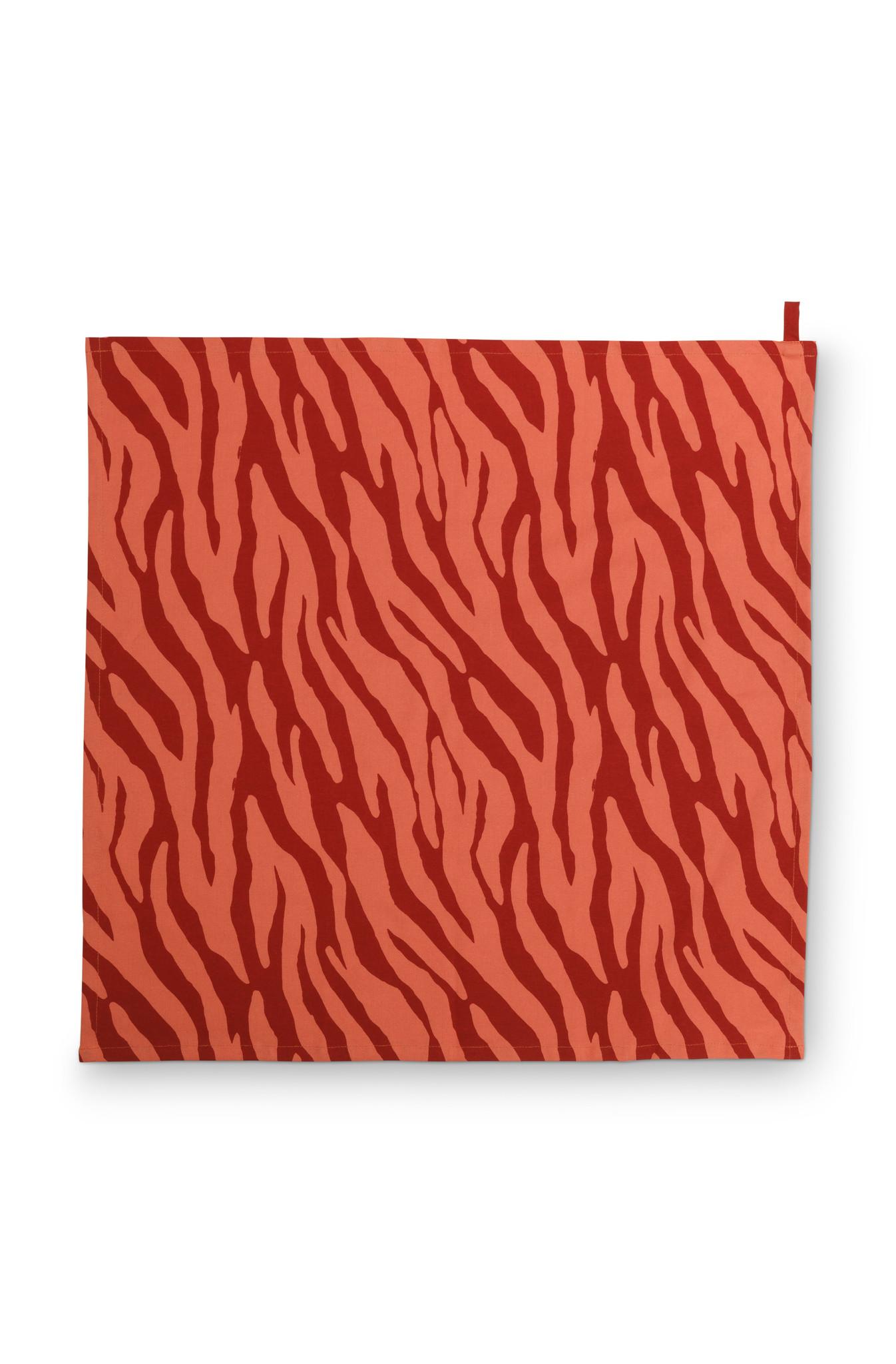 Tea Towel Zebra Stripes 60x60cm-1