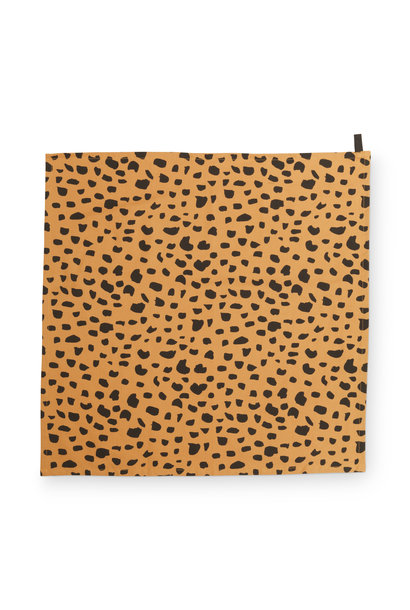 Tea Towel Cheetah Spots 60x60cm