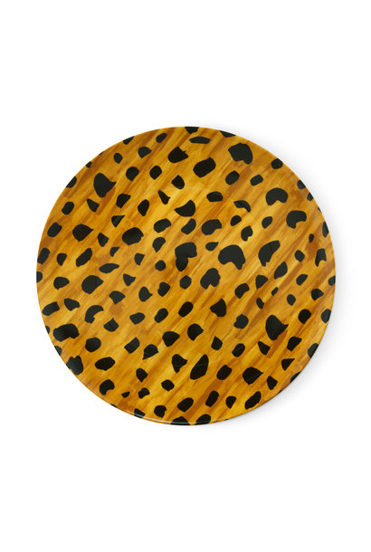 Serving plate Cheetah spots