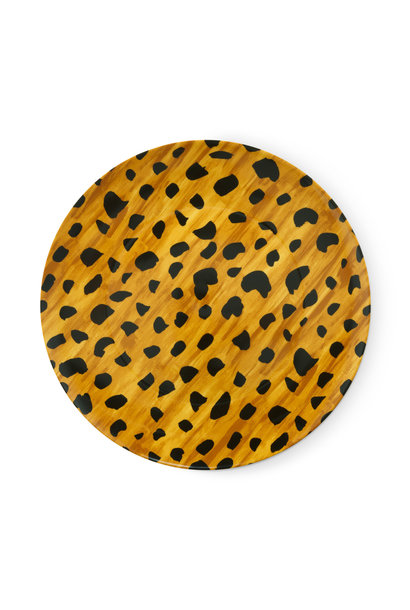 Breakfast plate Cheetah spots