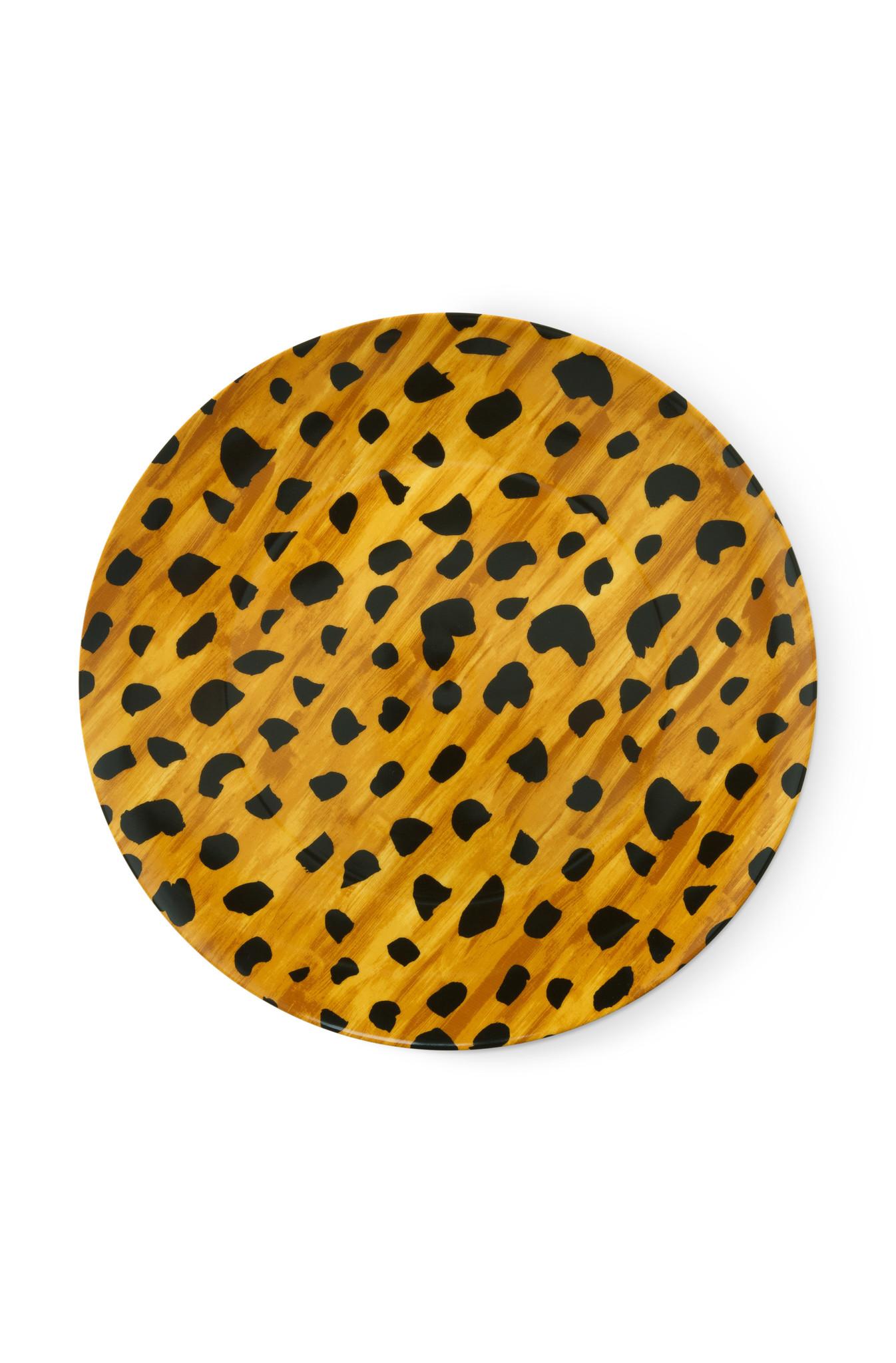 Breakfast plate Cheetah spots-1
