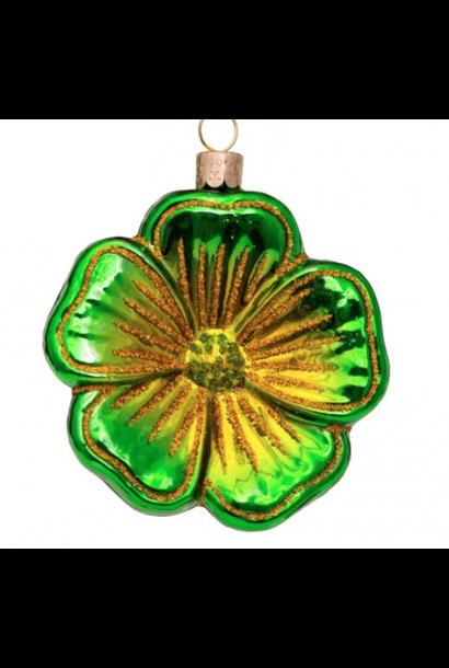 Kersthanger green flower