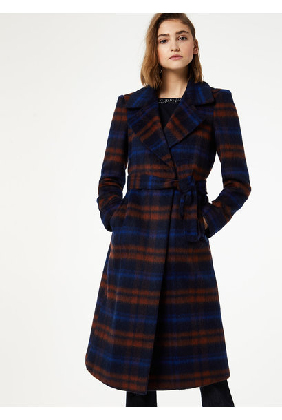 Coat check mohair