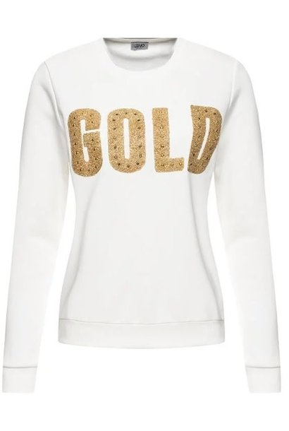 Sweatshirt lana/gold