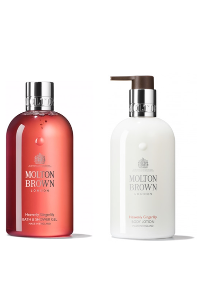 Giftset Heavenly gingerly  body wash & lotion