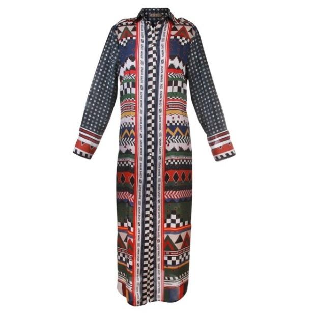 Dress Francis bay groen-1
