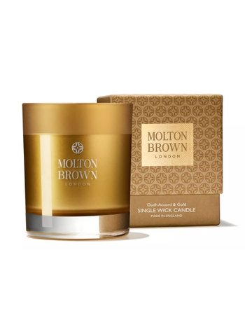 Molton Brown Oudh candle small