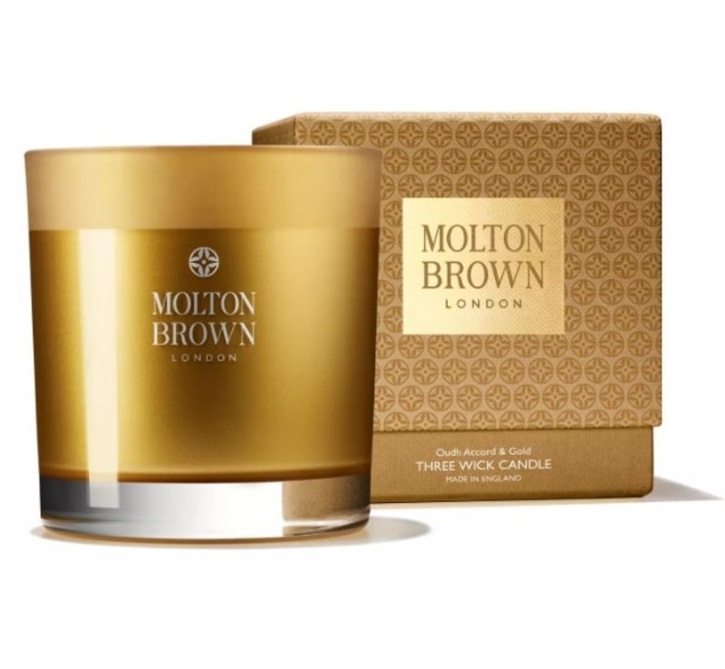 Molton Brown Oudh candle big