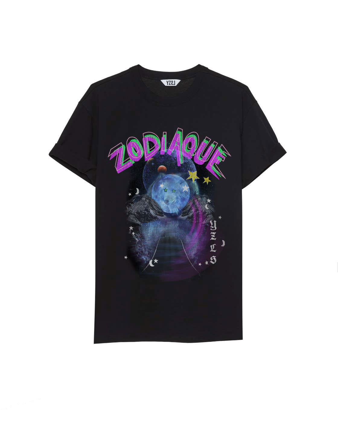 Tee Zodiaque black-1