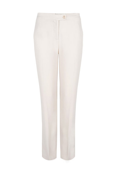 Alison satin striped pants