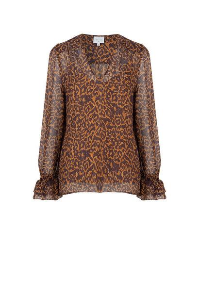 Sallyn leopard print top