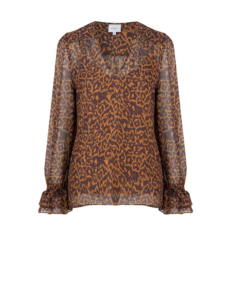 Sallyn leopard print top-1