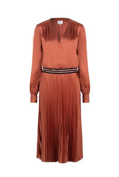 Christy plissé dress