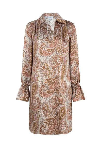 Verna paisley printed dress