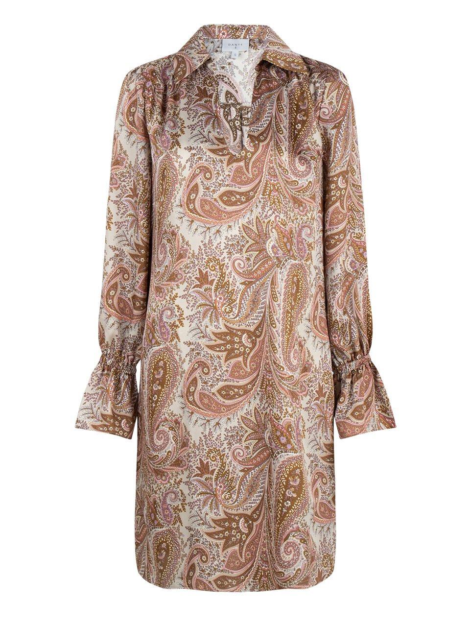 Verna paisley printed dress-1