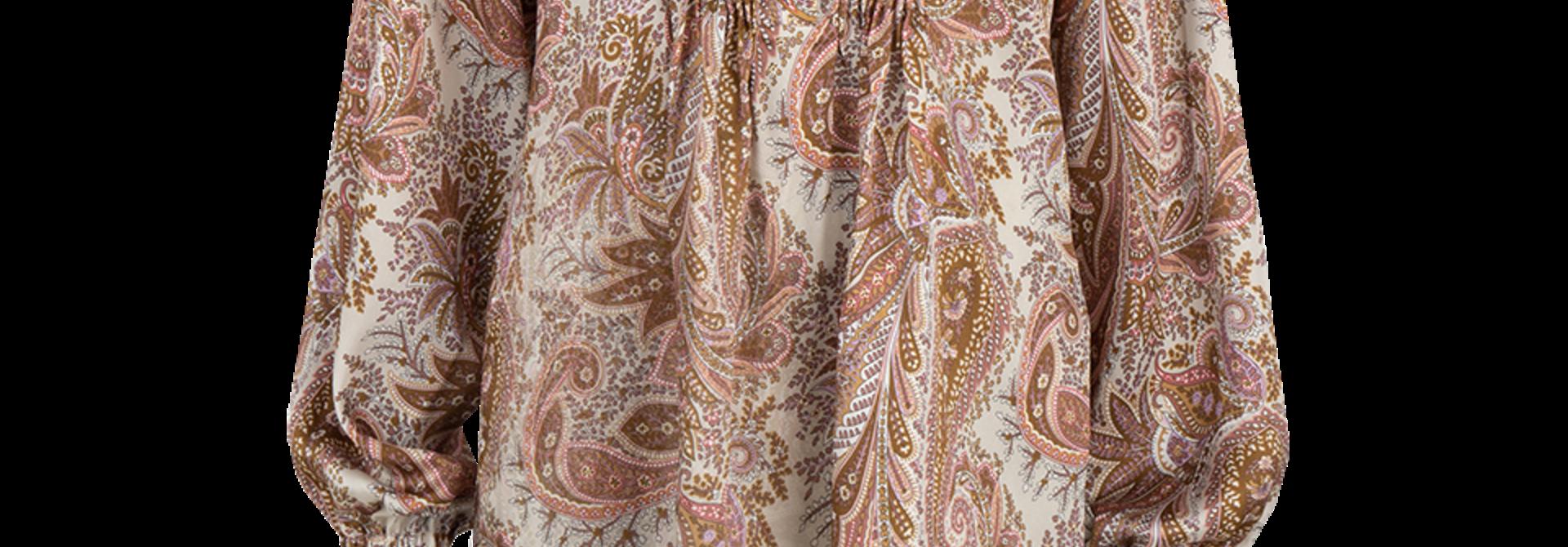 Priya paisley printed top