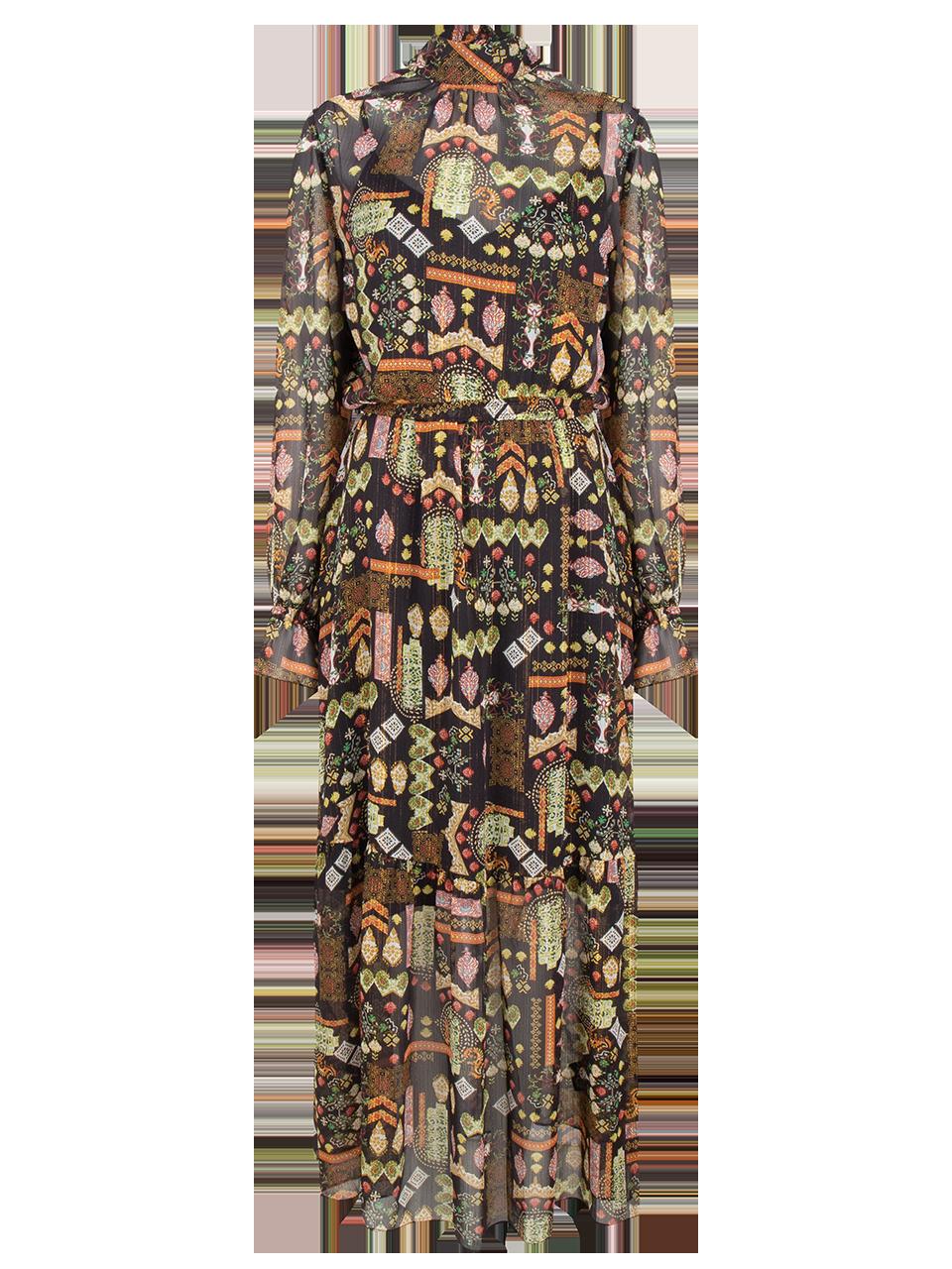 Valkyrie folky print dress-1
