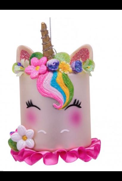 Kersthanger Unicorn cake