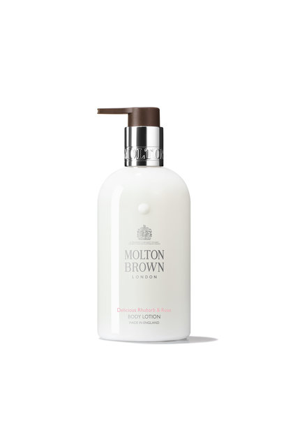 Rhubarb & rose hand lotion