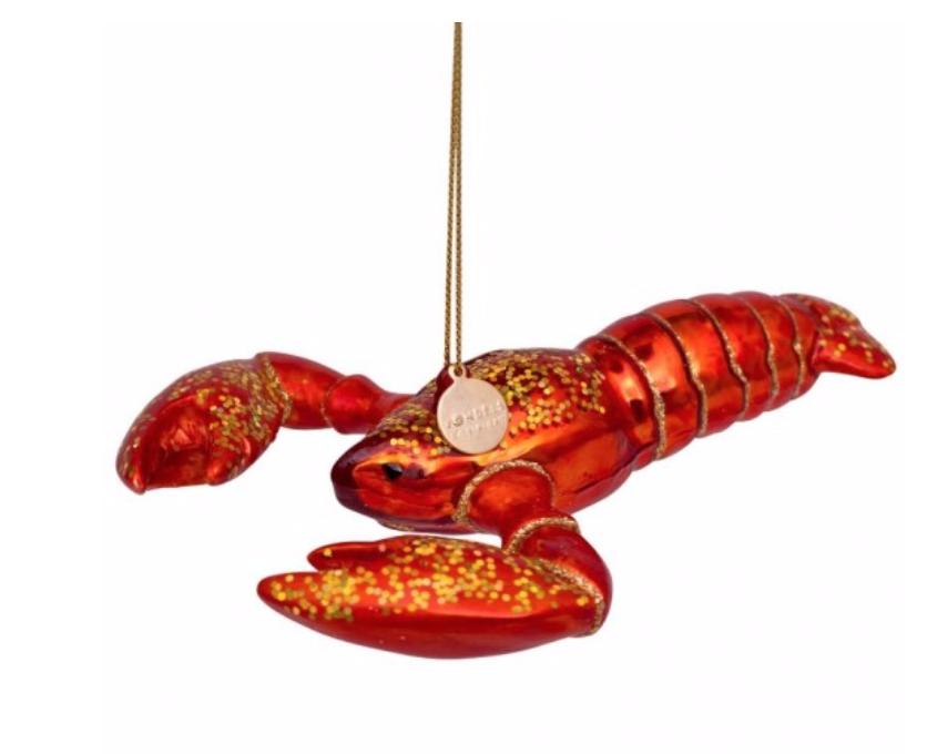 Kersthanger red lobster-1