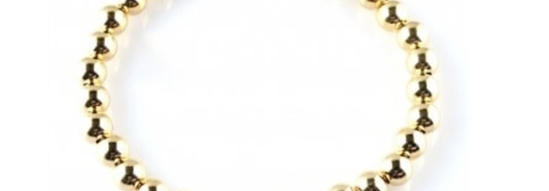 Basic gold 6mm