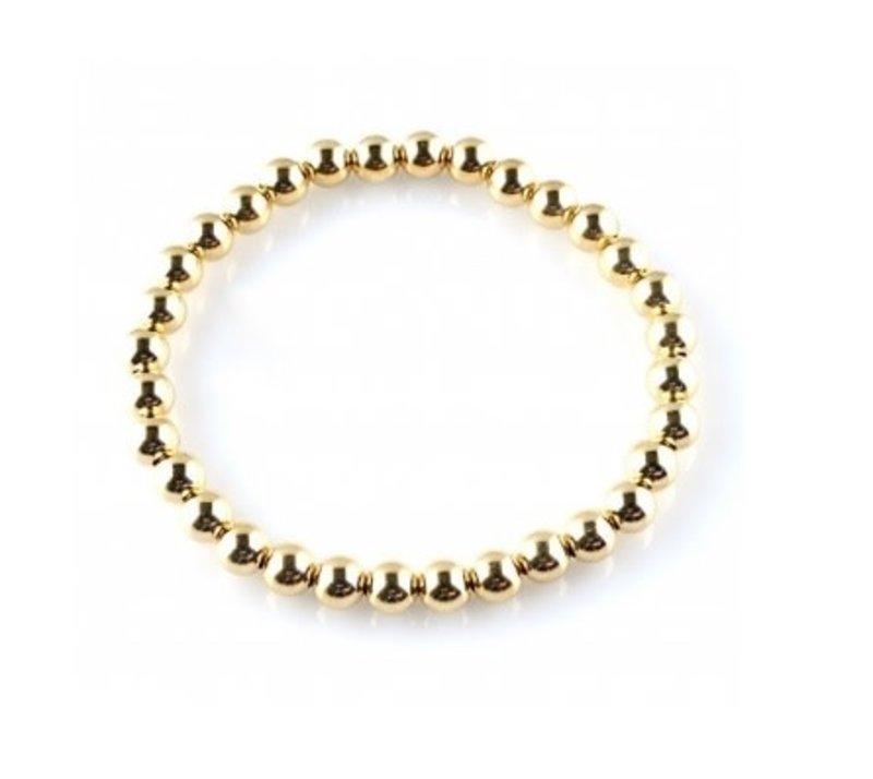 Ps Call Me Bracelet basic gold 6mm