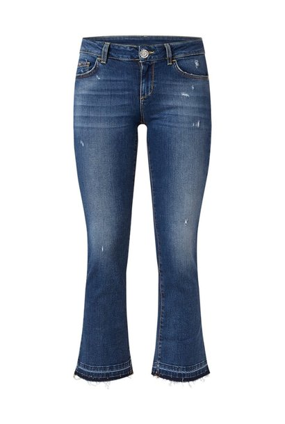 Bottom up fly jeans