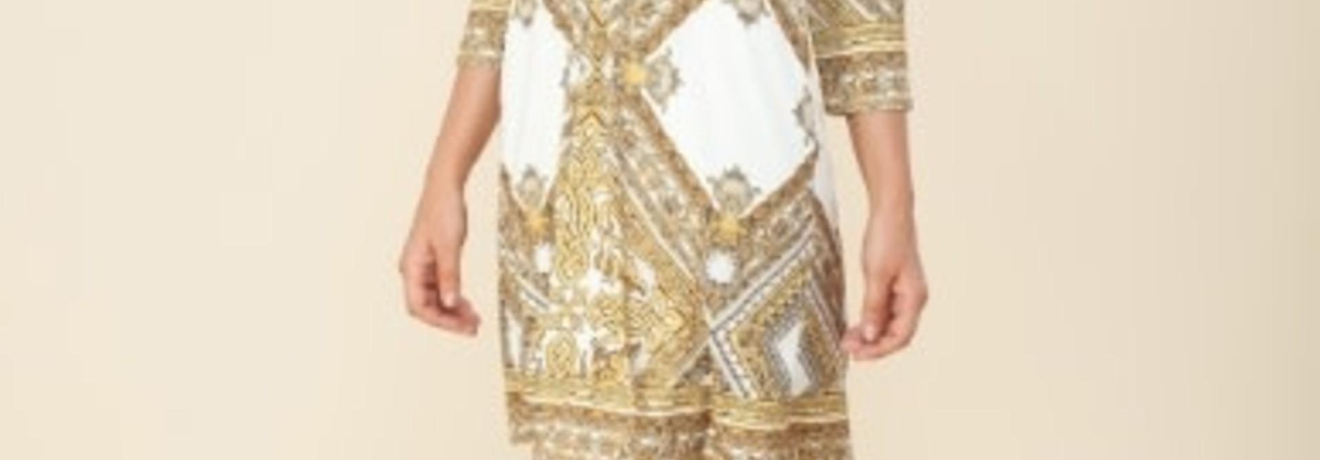 Maya ivory beads dress