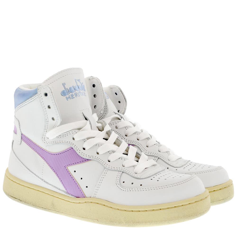 Sneaker basket white/viola winter sky-2