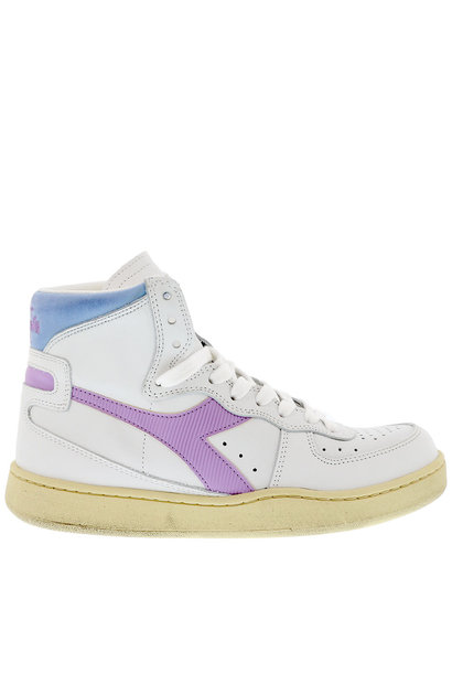 Sneaker basket white/viola winter sky