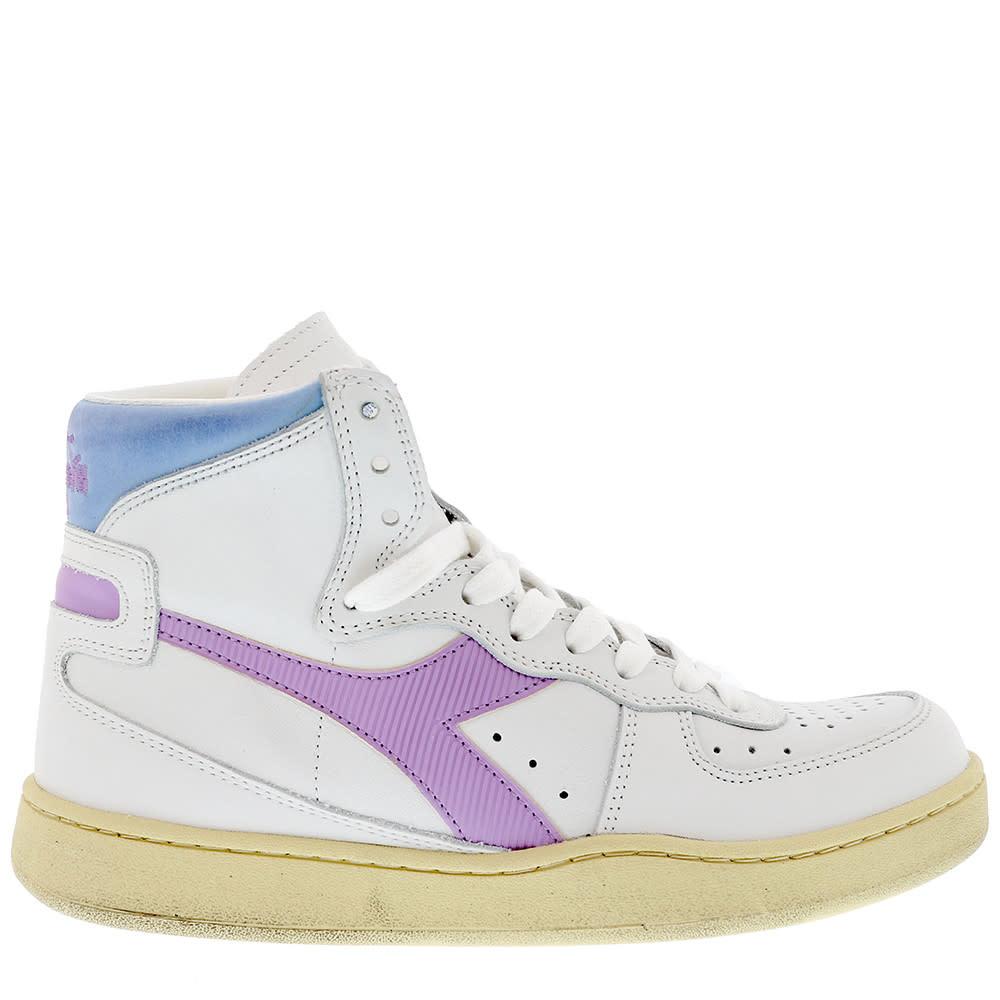 Sneaker basket white/viola winter sky-1