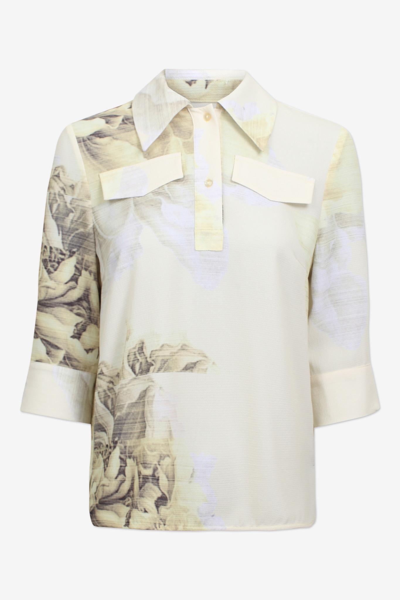 Mihoko blouse yellow-1