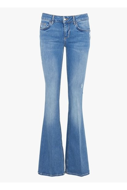 Bottom up beat flair jeans