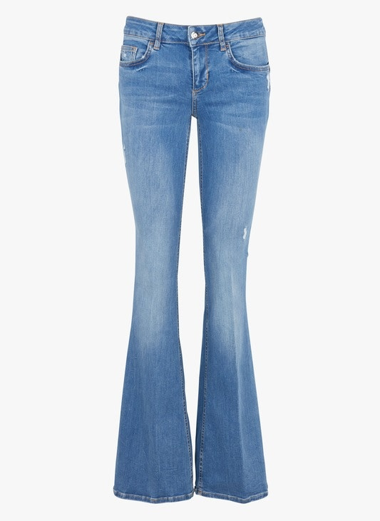Bottom up beat flair jeans-5