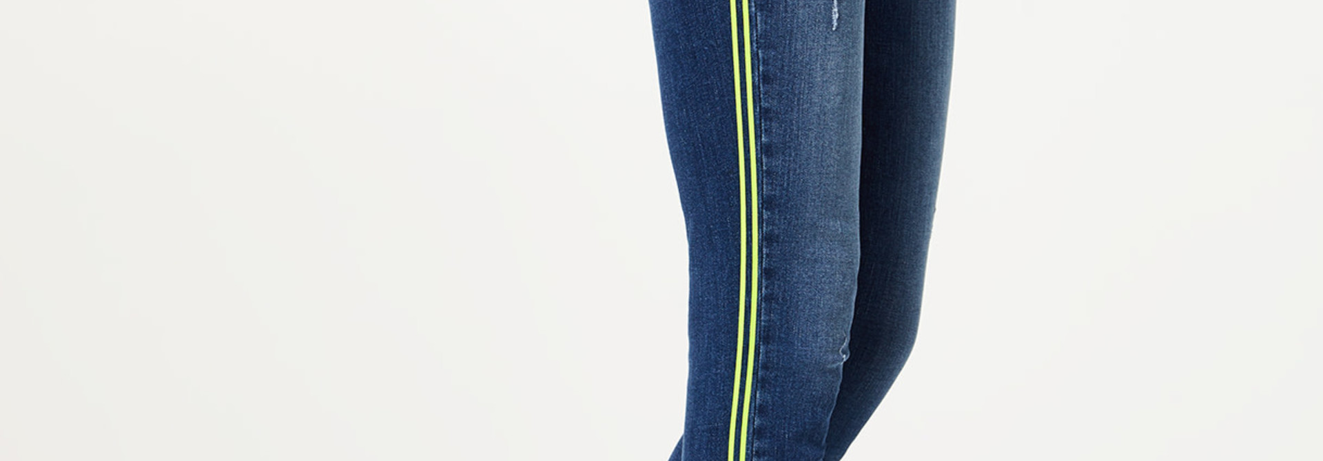 B.up Ideal jeans met neon