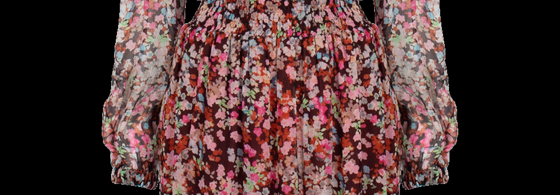 Okala floral print dress