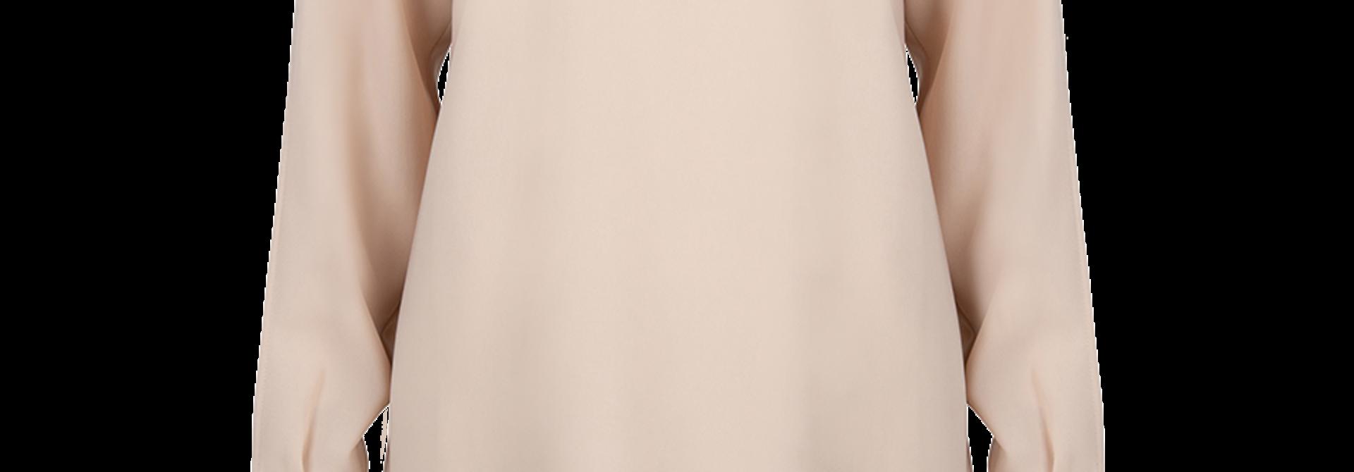 Russh sleeve detail top