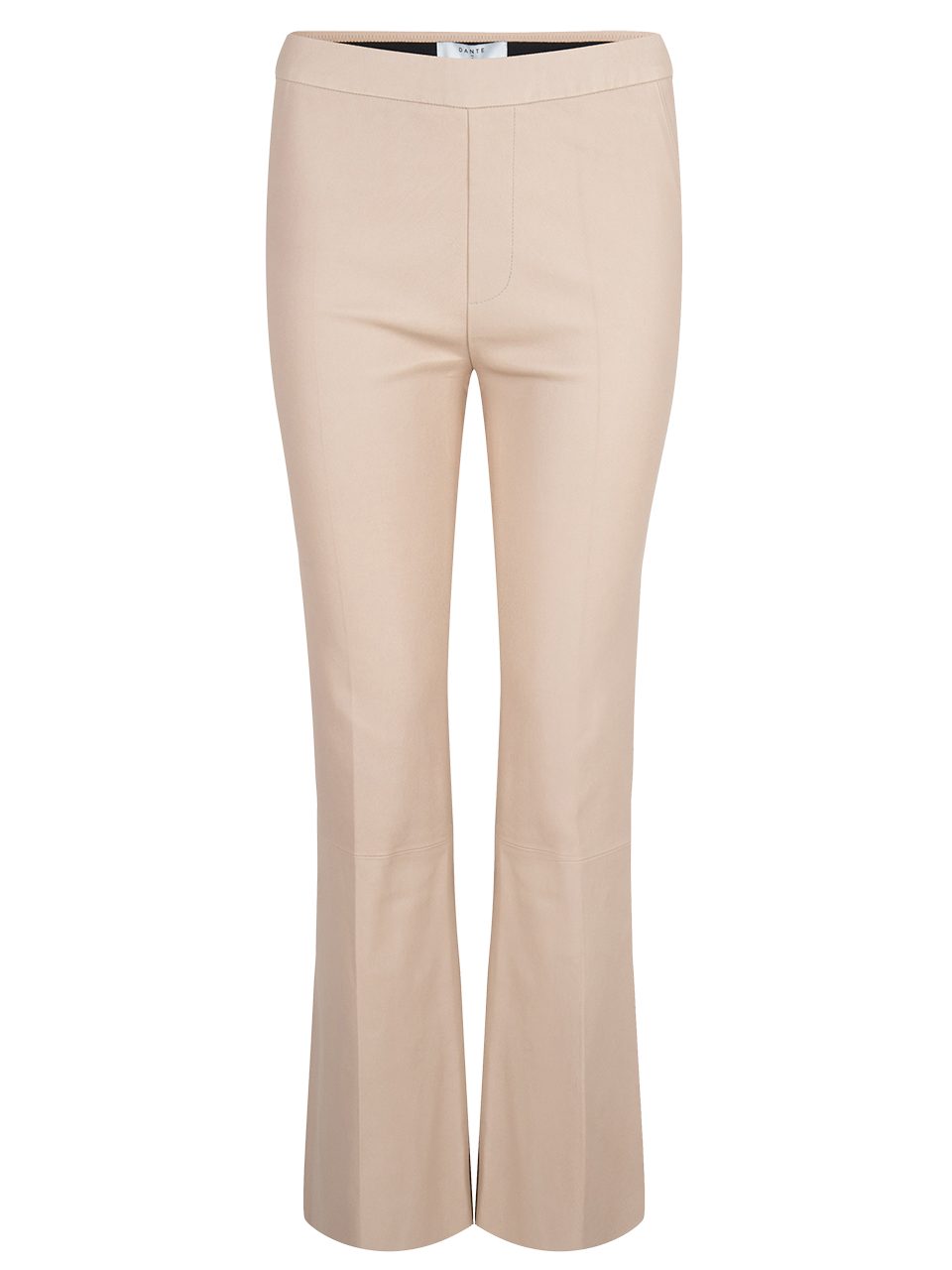 Tyson crop flare leather pants-1